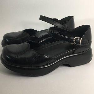 Dansko Savanna Mary Jane Full Grain Leather Black